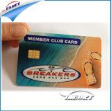 L'impression personnalisée des cartes de visite de la carte en plastique finition matte Carte à puce