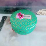 Kaars van het Tin van de Soja van de Was van de Soja van de Gift van Seriess van Kerstmis de Vastgestelde Organische Natuurlijke Gebemerkte
