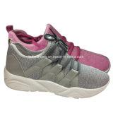 Подгонянный спорт тапки обувает ботинки холстины впрыски для женщин (YJ1216-3)