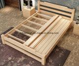 固体木のベッドの現代ダブル・ベッド(M-X2322)