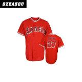 Projetar a venda por atacado de Jersey do basebol da camisa do basebol