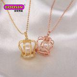 Moda jóias de raparigas em liga de zinco pouco Coração deslize o colar Charme preço barato jóias de ouro