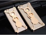X металл случая держателя кольца формы защищает Bumper iPhone аргументы за крышки