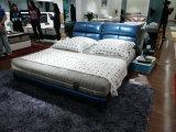 快適な方法現代革柔らかいベッド(SBT-31)