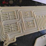 Plastique de haute qualité CNC Prototype ABS PMMA POM acrylique de pièces en plastique d'usinage CNC OEM personnalisé de haute précision Peek PTFE plastique Delrin