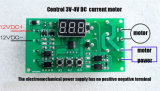 Moteur de 12 V renversant le relais programmable de commutateur horaire de rupteur d'allumage de carte de puissance de contrôle