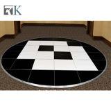 Rk Factory HOT Vente de plancher de danse ronde avec des matériaux en bois