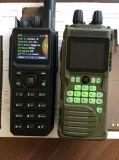Портативное устройство дуплексной радиосвязи в 66-88Мгц с использованием функции привязки GPS