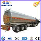petrolero del combustible de petróleo de la aleación de aluminio 3axle