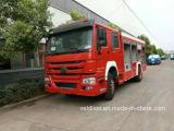 Sinotruk 4X2 Löschfahrzeug mit Wasser-Becken und Schaumgummi-Becken