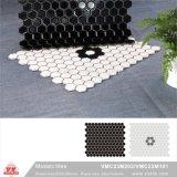 Mattonelle di ceramica della piscina del mosaico del materiale da costruzione (VMC19M004, 310X315mm+D19X6mm)