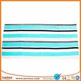 De zachte Promotie Volledige Handdoek van de Gymnastiek Microfiber van de Kleurendruk Afgedrukte