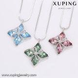 Цепочка-00503 Xuping кристаллов Swarovski от ветряной мельницы Platinum ожерелья, ювелирных изделий с золотым покрытием