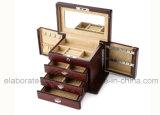 doos van de Gift van het Pakket van de Juwelen van de Douane van de manier de Houten