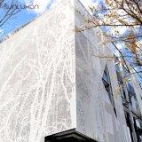 Внешние рассекатели стены экрана металла панелей плакирования стены декоративные