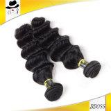自然なブラジルの毛1パック、ブラジルの毛3束
