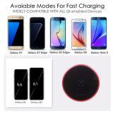 Più nuovo caricatore di carico senza fili universale del Qi del rilievo velocemente per il iPhone 8/X 7.5W di Samsung 10W