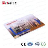 Impression couleur de la carte de billet papier RFID sans contact