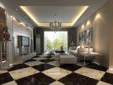 Nuevo diseño de la porcelana blanca Super 60X60 azulejo de mármol de Carrara
