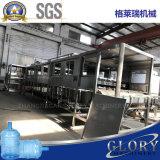 Botella de 5 galones de agua de lavado de Llenado y Tapado máquina