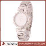 Qualitäts-Diamant-Dame-Uhr, wasserdichte Edelstahlrhinestone-Armbanduhr
