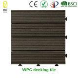 Новые строительные материалы дешевые WPC Пол декорированных плитка 12X12