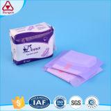 L'absorbant superbe s'envole le constructeur de Fujian de serviette hygiénique