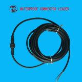 ワイヤーが付いている2つから12のPinの防水のソケットのプラグ