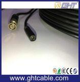 中国の卸し業者BNC DCのコネクターケーブルCCTVのカメラケーブル