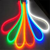 IP65 tweezijdige LEIDENE van het Neon Lichtblauwe Lichte 110V 8*16mm