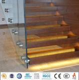 Безрамные Balustrade сертификат CE поручни стекла PVB слоистого стекла цена