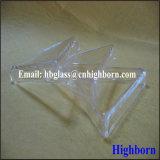 Contenitore triangolare libero di vetro di quarzo del silicone del fornitore