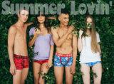 Mutandine delle donne della biancheria intima di Panty del cotone della fascia del merletto modellate alta vita