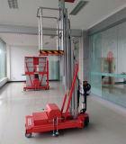 9mの高さの1人のためのアルミニウム空気作業プラットホーム