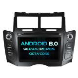 Witson Acht Androïde 8.0 Auto van de Kern DVD voor IPS van ROM van het Scherm van de Aanraking van ROM 1080P van Toyota Yaris 2005-2011 4G 32GB het Scherm