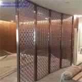 Porte d'intérieur en métal de partition de diviseur de pièce d'écran d'acier inoxydable d'hôtel
