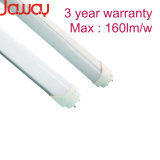Max 160lm/W 1200mm 18W T8 LED Tubes with 3 Year Warranty