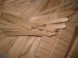Cuillères en bois de crême glacée de bouleau de vente d'usine de garantie longues