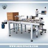 Etichettatrice dell'autoadesivo in linea automatico completo della stampante