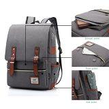 Mochila Laptop casual elegante Escola Daypacks Saco a tiracolo para Homens Mulheres