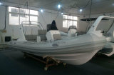 Liya 5,2m costillas inflables de fibra de vidrio de 520 barcos de pesca