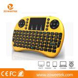 Mini tastiera di calcolatore senza fili della lampadina I8 di Rii per Samrt TV, casella Android della TV, telefoni astuti ecc