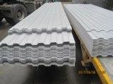 Lo strato di plastica del tetto di FRP, vetroresina ha ondulato lo strato dell'isolamento del tetto