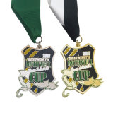 サンドブラスティングを用いる熱いSalecustomの第2記念品の挑戦スポーツの金属メダル