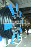 Máquina de enrollamiento del tubo de la estación doble/rodillo plásticos