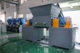 Macchina di riciclaggio di plastica industriale della trinciatrice dell'asta cilindrica del gemello del rifornimento della fabbrica