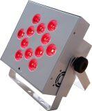 Rasha 최신 판매 12*18W 6in1 Rgbaw UV 전지 효력 무선 LED 동위 빛 결혼식 사건을%s 편평한 동위 영사기 PAR64