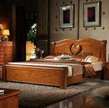 Festes hölzernes Bett-moderne doppelte Betten (M-X2359)