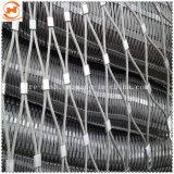 100X100 из нержавеющей стали гибкие проволочного каната сетка /тканого веревки сетки