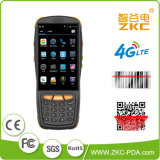 GSM de Androïde 5.1 WiFi USB van de Kern van de Vierling Qualcomm van Zkc PDA3503 4G 3G Scanner van de Streepjescode van de Laser van de Supermarkt met NFC RFID